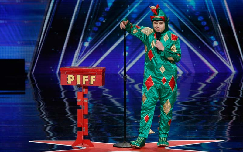 America's Got Talent Piff the Magic Dragon