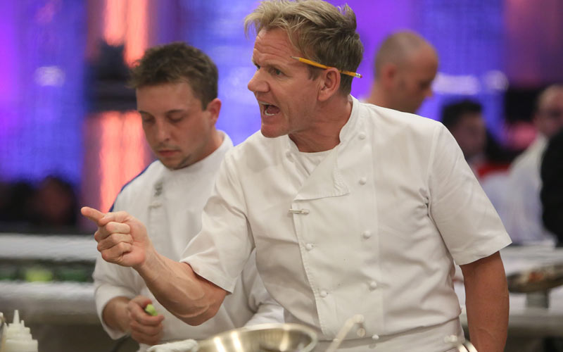 Today 10 Years Of Gordon Ramsay Screaming On Hell S