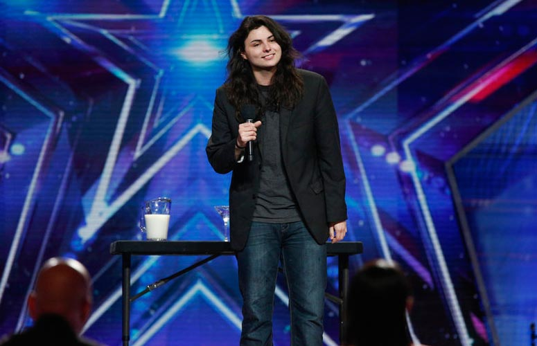 America's Got Talent Youngblood milk eye