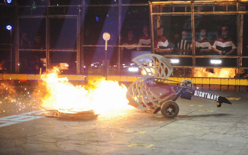 BattleBots premiere Nightmare Warrior Clan