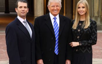 Donald Trump, Jr. Donald Trump and Ivanka Trump