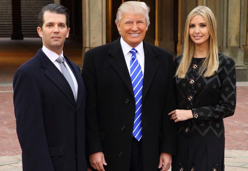 Donald Trump, Jr. Donald Trump and Ivanka Trump