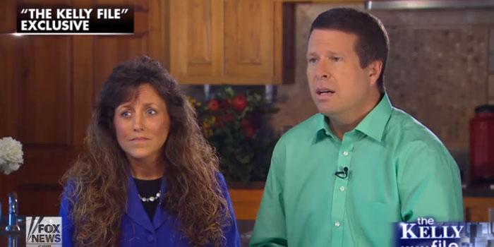 Fox News Kelly File Megyn Kelly Jim Bob and Michelle Duggar