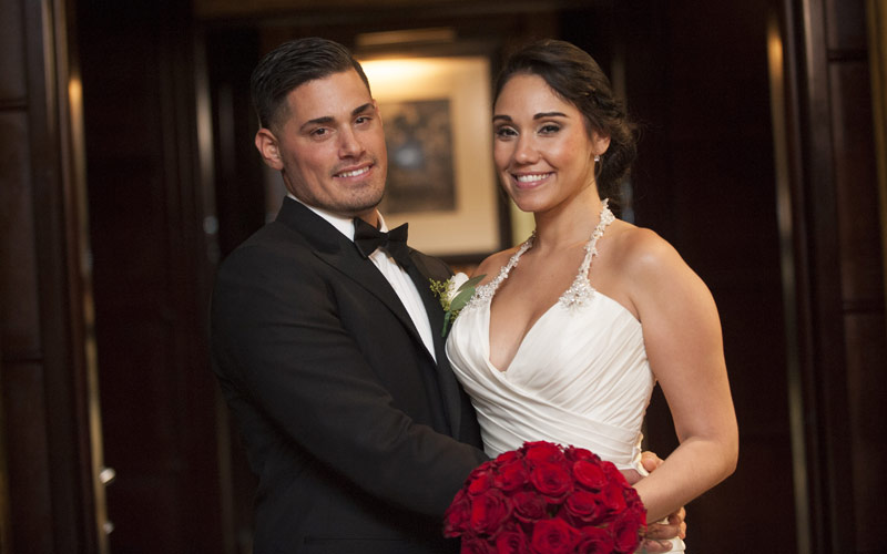 Married at First Sight's Ryan DeNino and Jessica Castro