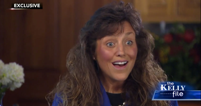 Michelle Duggar on Fox News Kelly File