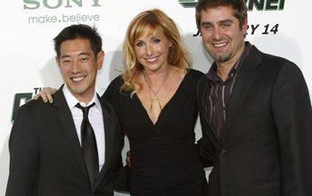 Grant Imahara, Kari Byron, and Tory Belleci