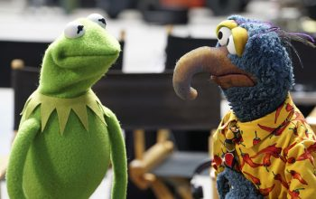 ABC The Muppets Kermit and Gonzo
