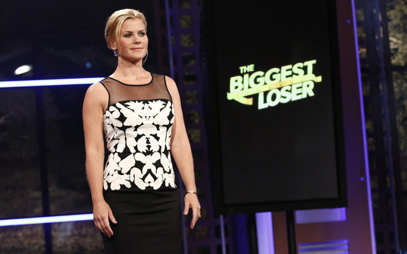 The Biggest Loser host Alison Sweeney