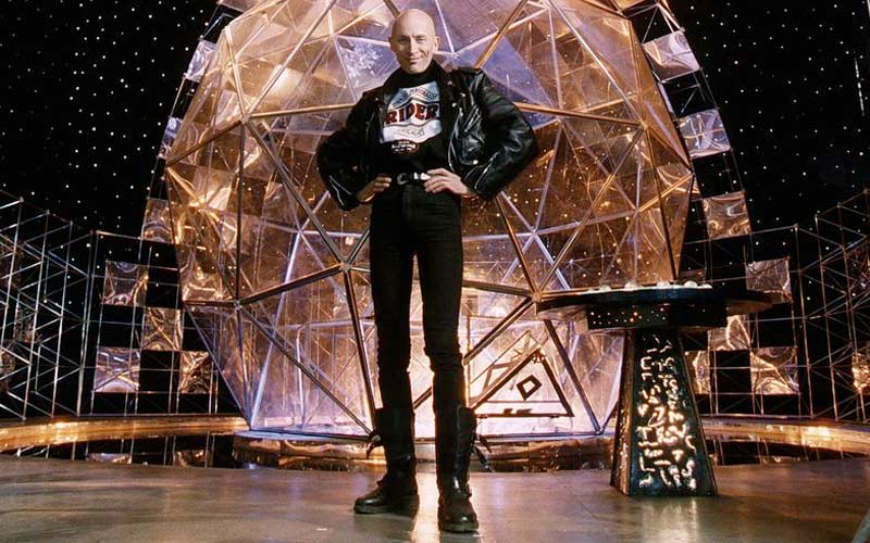 The Crystal Maze Richard O'Brien