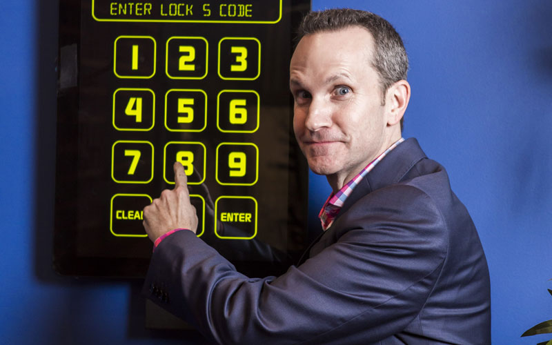 Join the escape room craze from your couch on Race to Escape