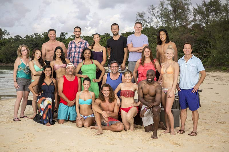 Survivor Cambodia Second Chance cast Survivor contestant ages
