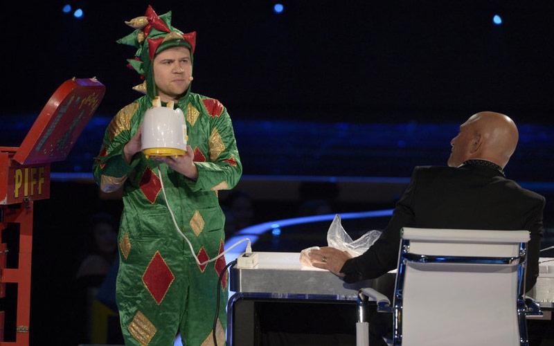 AGT semi-finals Piff the Magic Dragon