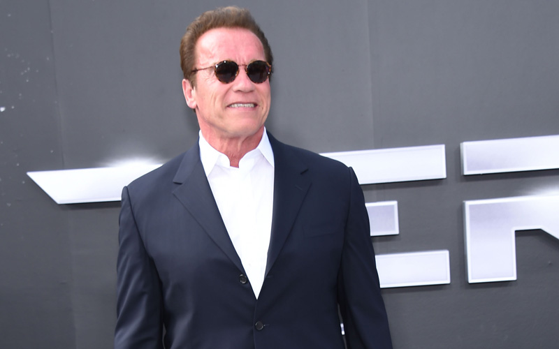 New Celebrity Apprentice host Arnold Schwarzenegger