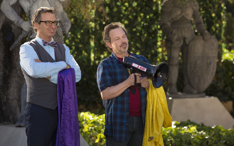 King of the Nerds season 2 Robert Carradine and Curtis Armstrong