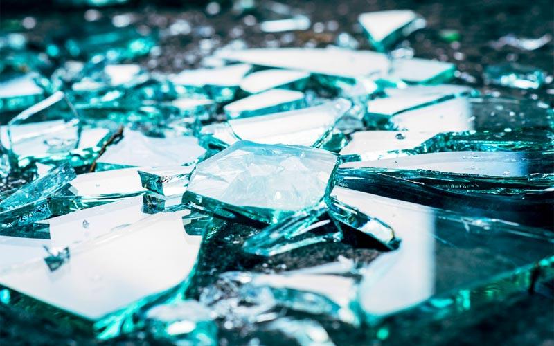 reality TV story producer job explained by broken glass