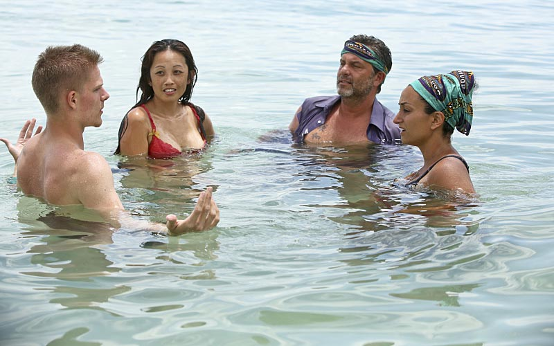 Survivor Cambodia Spencer, Peih-Gee, Jeff, Shirin