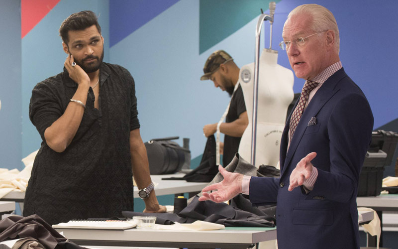Project Runway Swapnil Shinde Tim Gunn