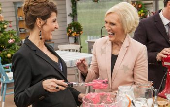 The Great Holiday Baking Show Nia Vardalos Mary Berry