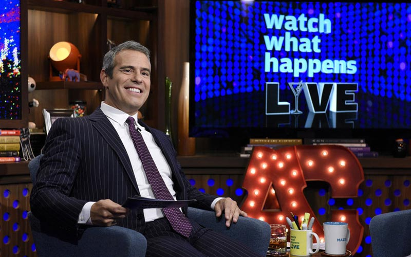Andy Cohen Watch What Happens Live episode 12163