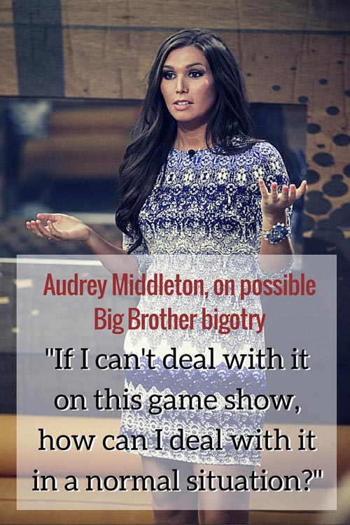 Audrey Middleton Big Brother 17 BB17 interview realityblurred.com