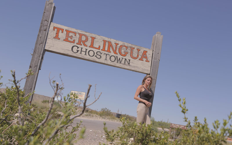 Ronda Haberer on Badlands, Texas, National Geographic Channel Terlingua