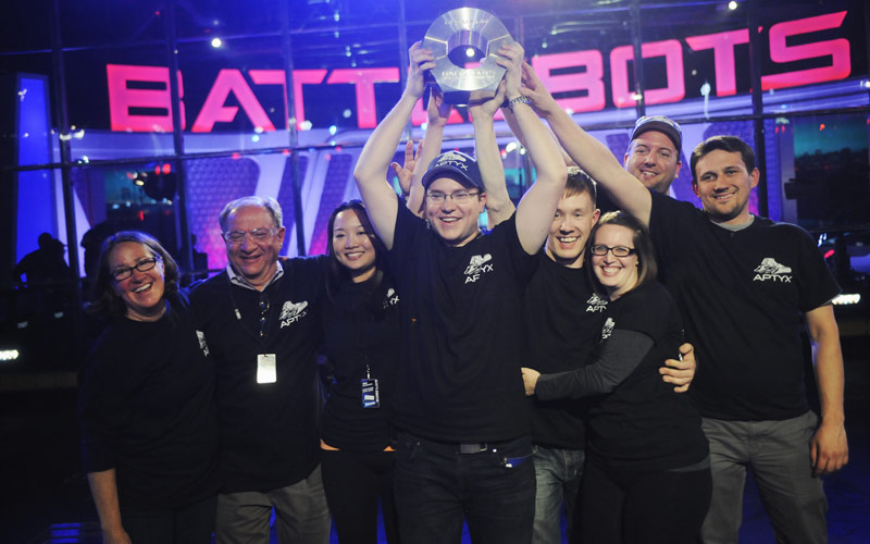 Battlebots season one winners