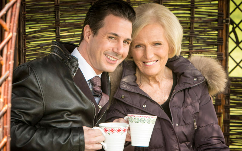 Great Holiday Baking Show Johnny Iuzzini Mary Berry