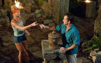 Kelley Wentworth plays a hidden immunity idol on Survivor Cambodia: Second Chance