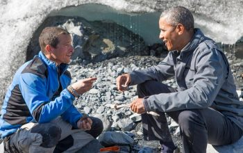 Obama on Running Wild: the President on reality TV is surreal