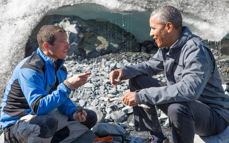 Running Wild with Bear Grylls President Barack Obama
