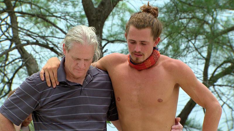 Survivor Cambodia Joe Anglim and dad
