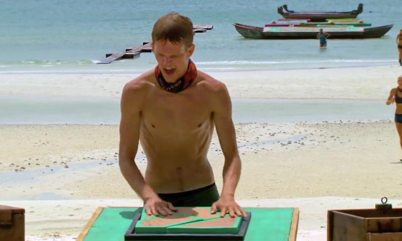 Survivor Cambodia Spencer Bledsoe puzzle immunity challenge