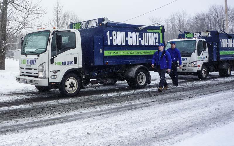 Hoarders A&E Got Junk trucks