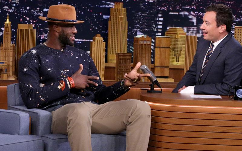 LeBron James CNBC Cleveland Hustles Jimmy Fallon The Tonight Show