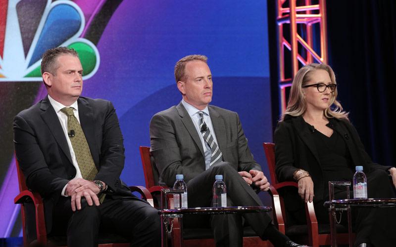 NBC winter press tour Paul Telegdy Bob Greenblatt Jennifer Salke