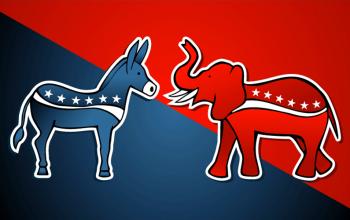 presidential campaign Republican Democrat endorsements reality TV show stars