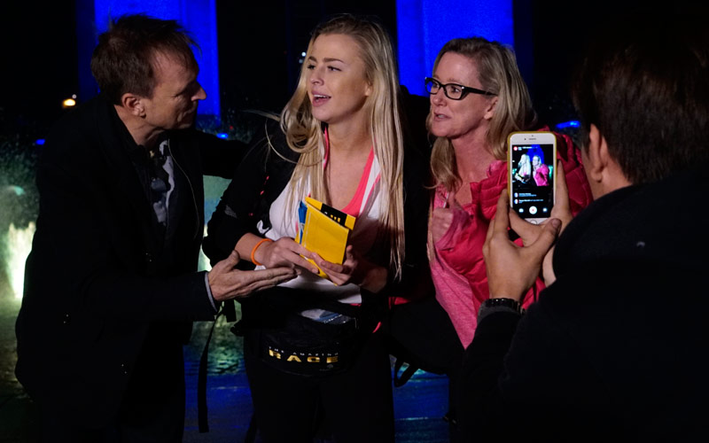 Amazing Race 28 social media cast Hagan Marty Phil Keoghan
