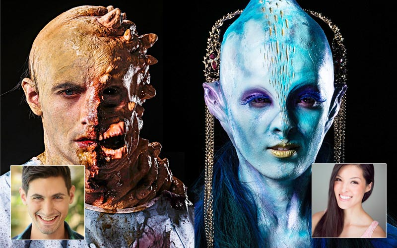Face Off models Matt Chris Wood Isabelle Du