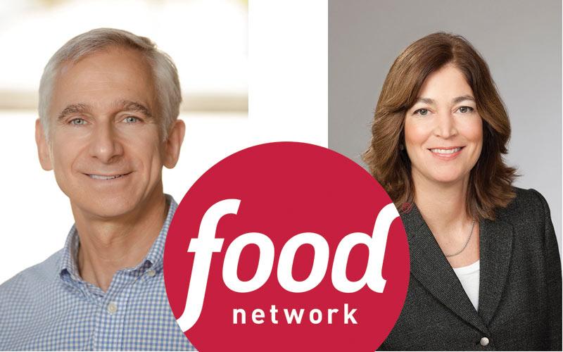 Food Network Cooking Channel Bob Tuschman Deirdre O'Hearn