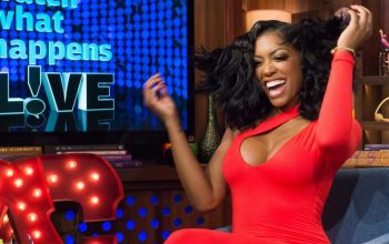 Porsha Williams WWHL RHOA Celebrity Apprentice