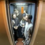 Watch Shia LaBeouf on a live feed in an elevator