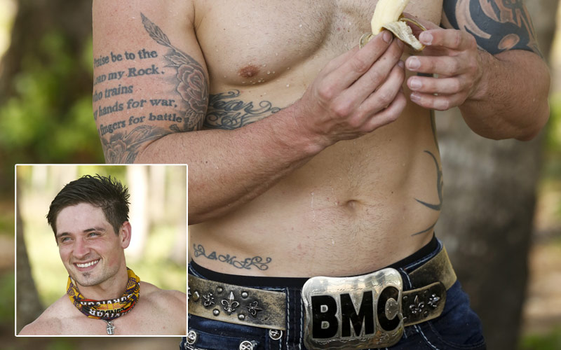 Survivor Big Brother Caleb Reynolds Beast Mode Cowboy nicknames
