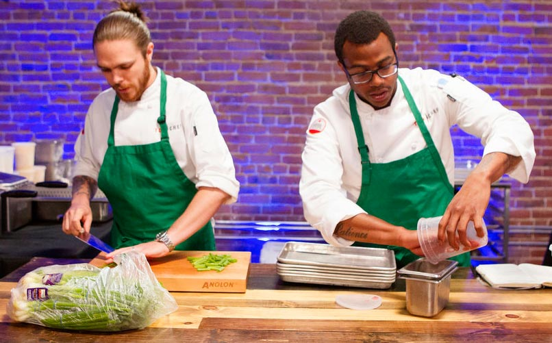 Top Chef California Phillip Frankland Lee Kwame Onwuachi