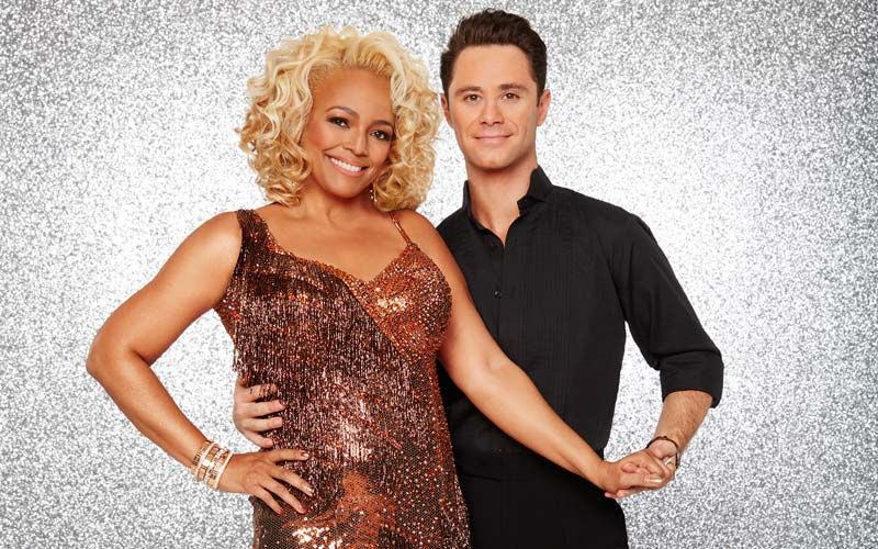Dancing with the Stars, Kim Fields, Sasha Farber