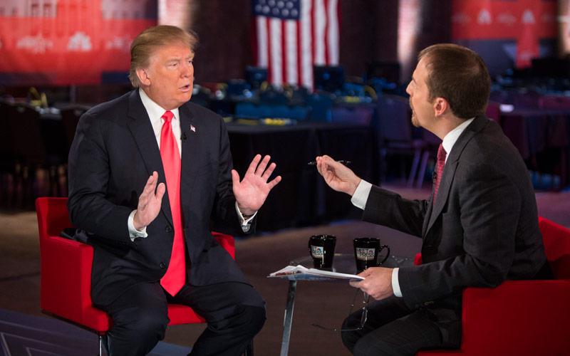 Donald Trump Meet the Press Survivor The Apprentice Celebrity Apprentice
