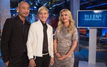HGTV Ellen's Design Challenge Cliff Fong Ellen DeGeneres Christiane Lemieux
