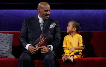 Steve Harvey, Little Big Shots, Ryusei Imai, Celebrity Family Feud