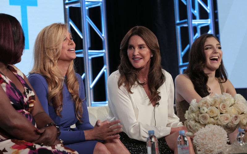 I Am Cait, season two cast, Chandi Moore, Candis Cayne, Caitlyn Jenner, Ella Giselle