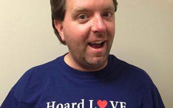Hoarders, Matt Paxton, Hoard Love Not Stuff t-shirt