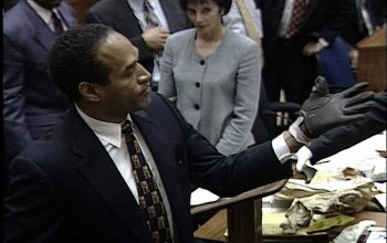OJ Simpson, Marcia Clark, glove, Esquire, The Real OJ Simpson Trial